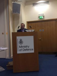 Edward speaking at the Civil Service Rainbow Alliance conference 2013