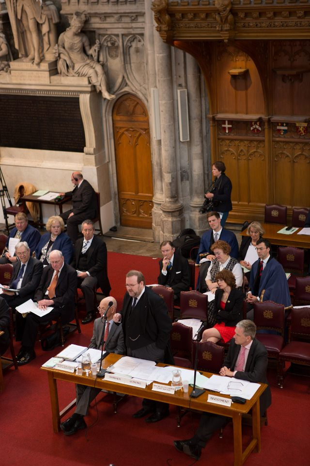 Addressing a meeting of the Court of Common Council. Guildhall, April 2013