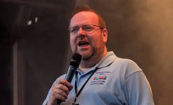 Speaking on the main stage at Pride in London, 25 June 2016