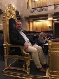 CEL in Junior Grand Warden's Chair